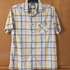 G. H. Bass & Co. Plaid Shirt. Slim Fit Sz L